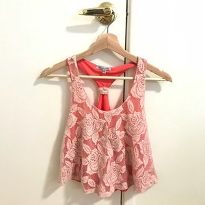 Charlotte Russe Floral Top XS